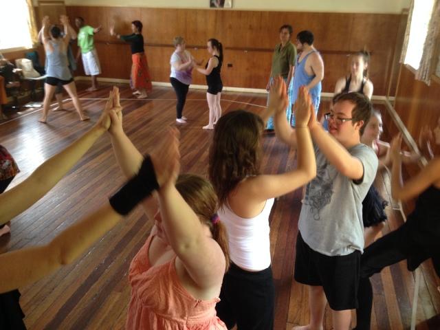"""Dwell"" Warmup, Alstonville Dance Studio"